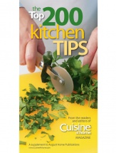 The Top 200 Kitchen Tips cookbook cover image