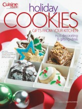Holiday Cookies Cookbook cookbook cover image