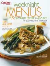 Weeknight Menus Vol. 2 cookbook cover image