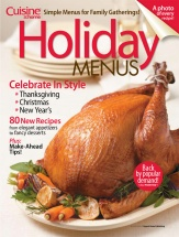 Holiday Menus Vol. 1 cookbook cover image