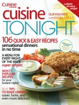 Cuisine Tonight cookbook cover image