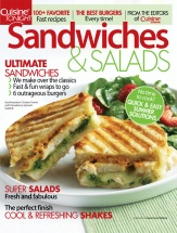 Sandwiches & Salads cookbook cover image