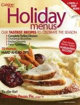Holiday Menus Vol. 2 cookbook cover image