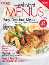 Weeknight Menus - Volume 3 cookbook cover image