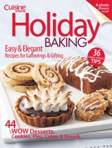 Holiday Baking cookbook cover image