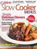 Slow Cooker Menus cookbook cover image