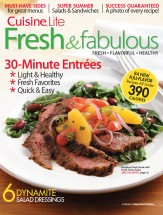 Fresh & Fabulous, Vol. 1 cookbook cover image