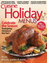 Holiday Menus, Volume 3 cookbook cover image