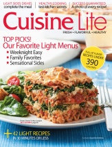 Cuisine Lite Volume 2 cookbook cover image