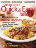 Quick & Easy Italian cookbook cover image