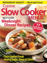 Slow Cooker Menus, Vol. 2 cookbook cover image