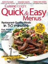 Quick & Easy Menus, Vol. 2 cookbook cover image