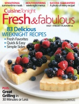 Fresh & Fabulous, Vol. 2 cookbook cover image