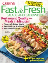 Fast & Fresh Salads and Sandwiches cookbook cover image