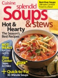 Cuisine Splendid Soups & Stews cookbook cover image