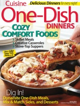 Amazing One-Dish Dinners cookbook cover image
