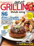 Cuisine Tonight Great Grilling Made Easy cookbook cover image