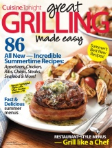 Great Grilling Made Easy cookbook cover image