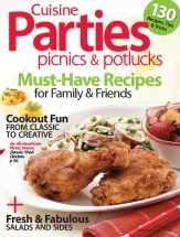 Parties, Picnics & Potlucks cookbook cover image