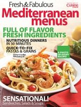 Fresh & Fabulous Mediterranean Menus cookbook cover image