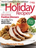 Best Holiday Recipes cookbook cover image