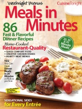 Weeknight Menus Meals in Minutes cookbook cover image