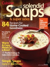 Splendid Soups & Super Sides cookbook cover image