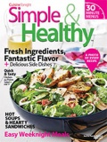 Simple & Healthy cookbook cover image