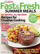 Fast & Fresh Summer Meals cookbook cover image