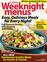 Cuisine Weeknight Menus, Volume 4 cookbook cover image