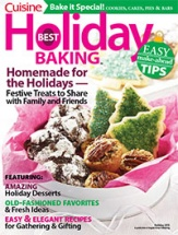 Best Holiday Baking cookbook cover image