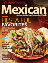 Cuisine Tonight Mexican cookbook cover image