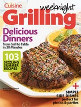 Weeknight Grilling Vol. 1 cookbook cover image