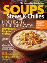 Soups, Stews & Chilies cookbook cover image