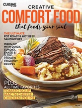 Creative Comfort Food cookbook cover image