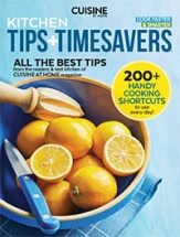 Kitchen Tips + Timesavers cookbook cover image